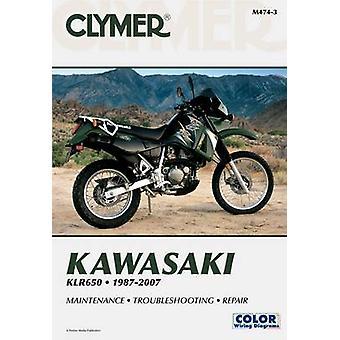 Clymer Kawasaki KLR650 1987-2007 (3rd Revised edition) by James Groom