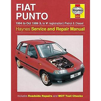 Fiat Punto (1994-1999) Service and Repair Manual (2nd Revised edition