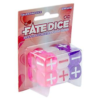Evil Hat Productions Board Game Valentine Dice