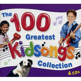 Kidsongs - 100 Greatest Kidsongs Collection [CD] USA import