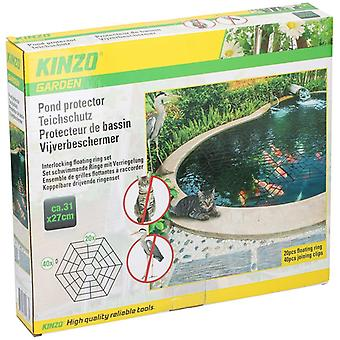 20pcs Floating Pond Protector Heron Cat Guard Net Cover 20 Hexagonal Fish Guards