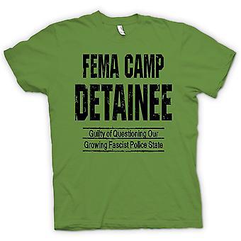 Kvinner t-skjorte - FEMA - Camp varetektsfange - politistat - konspirasjon