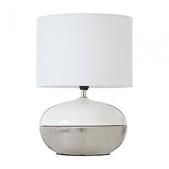 Premier hem honung bordslampa, silver