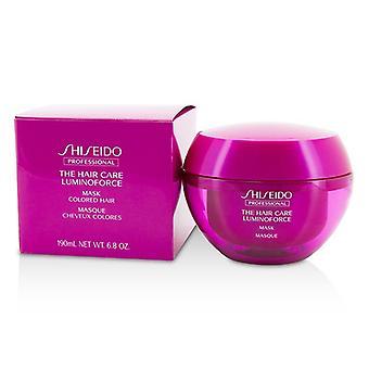 Shiseido hår omsorg Luminoforce maske (farget hår) 190ml/6.8 oz