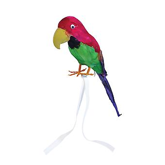 Bristol Novelty Feather Covered Toy Parrot