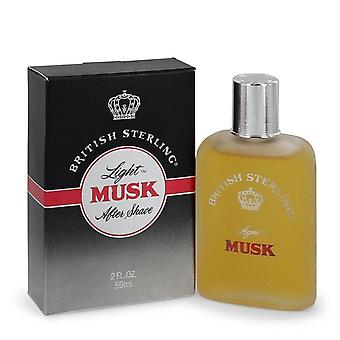 British Sterling Light Musk After Shave By Dana   544270 60 ml