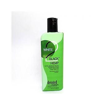Devoted Creations White 2 Black Hemp Darker Bronzing Tanning Lotion - 260ml