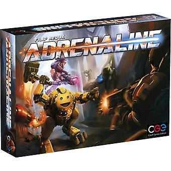 Adrenaline Board Game Number of players 3 to 5