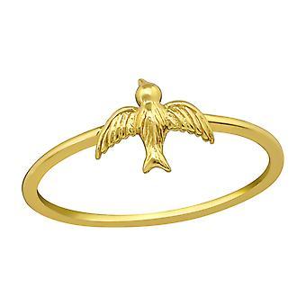 Bird - 925 Sterling Silver Plain Rings - W39249x