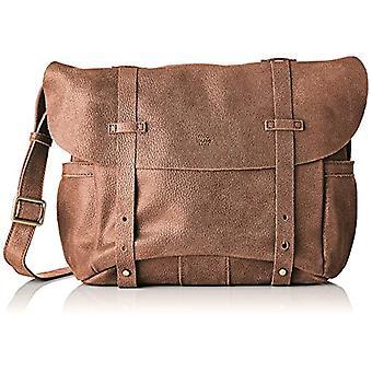 Mila Louise3024G - Brown Woman Shoulder Bag (CANNELLE 57)) 18x23x29 cm (W x H x L)