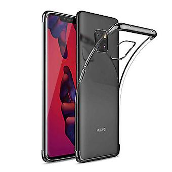 Huawei Mate 20 Pro Bumper Case Black - Backcover Clear