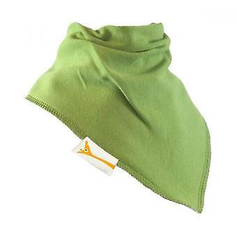 Green plain simply summer bandana bib