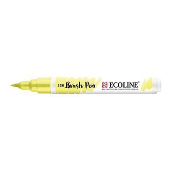 Talens Ecoline Liquid Watercolour Brush Pen - 226 Pastel Yellow