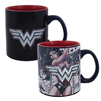 Wonder Woman chaleur révéler Mug à café