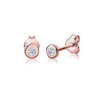 Diamore Silver Women pin earrings - 307681017