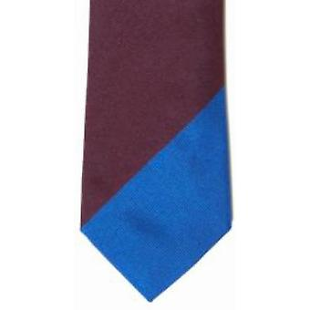 Gene Meyer Rugby Stripe Tie - Blue/Green/Brown