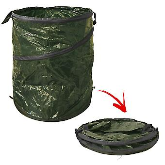 Large Heavy Duty Pop Up Garden Bin Waste Rubbish Leaves Sack Bag Strong Handles for Gardening