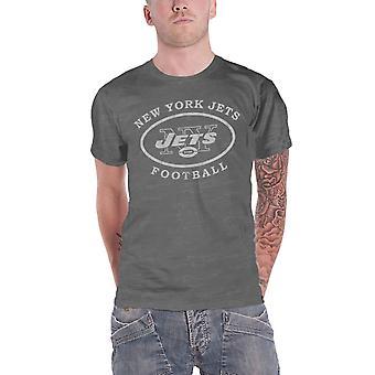 Camiseta New York Jets New York Jets Logo nuevo oficial NFL Mens Burnout