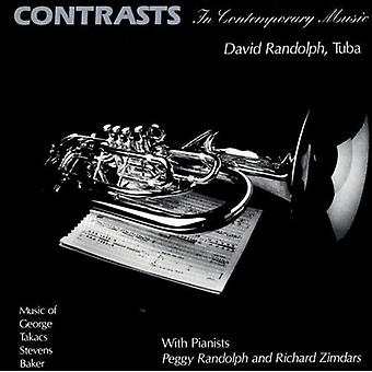 George/Stevens/Takacs - Contrasts in Contemporary Music [CD] USA import
