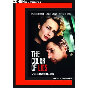 Color of Lies [DVD] USA import