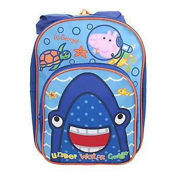 Peppa Pig George Erwin Rucksack Travel Backpack Bag