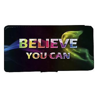 iPhone 6/6s Wallet case: Believe You can peel case