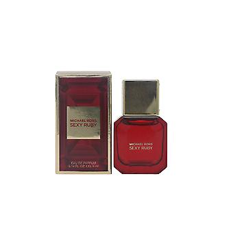 Sexy Ruby by Michael Kors Eau De Parfum 0.14oz/4ml Splash New In Box