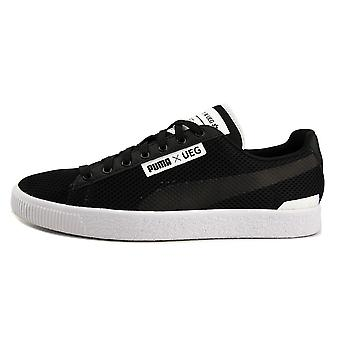 Puma Mens Court X UEG Fabric Low Top Lace Up Fashion Sneakers