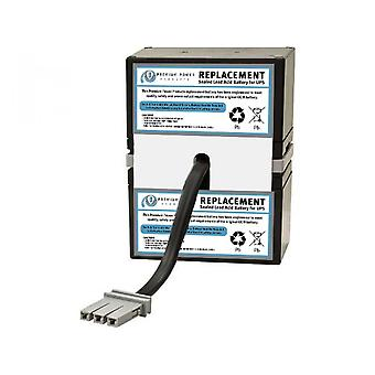 Utskifting UPS batteri kompatibel med APC SLA33