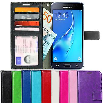 TOP Wallet Case Samsung Galaxy J3 6 (2016) 4pcs cards