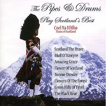 Scotland - Pipes & Drums Play Scotland' [CD] USA import