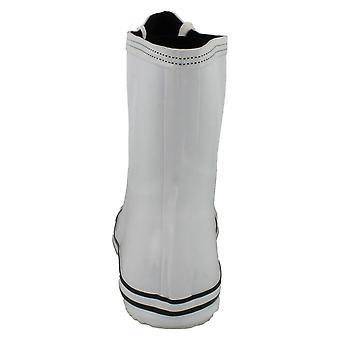 Spot on naisten/naisten Lace up baseball Boot Design Wellington saappaat