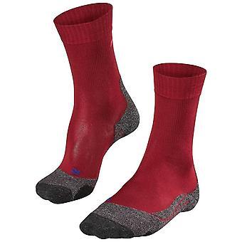 Falke trekking 2 seje sokker-Ruby Red
