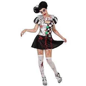 Women costumes Women Bloody Harlequin XL