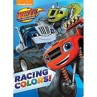 Blaze et les Machines de Monster : couleurs de course ! (Blaze & les Machines Monster)
