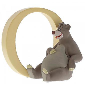 Disney Enchanting Collection Letter O - Baloo