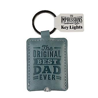 History & Heraldry Keyring - Dad Key Light