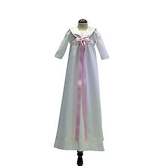 Dopklänning Grace Of Sweden - Med Lång ärm Och Rosa Rosett