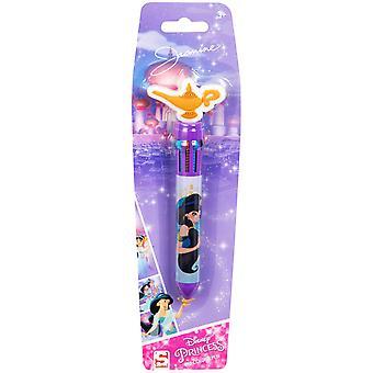 Disney Aladdin Jasmine Muste Kynä 10 eri väriä 10i1