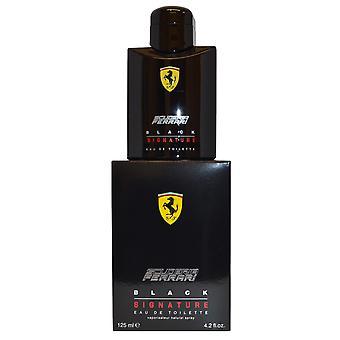 Musta Allekirjoitus Scuderia Ferrari Eau de Toilette Spray 125ml