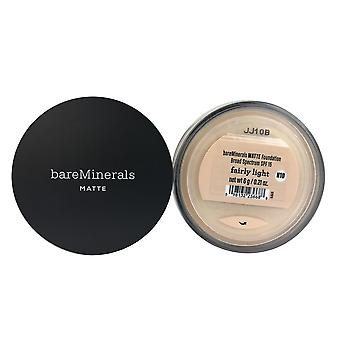 Bareminerals matte foundation spf 15 fairly light 0.21 oz