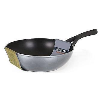 Wok Pan Quttin Soft touch Grey