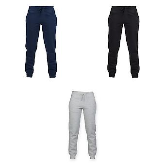 Skinnifit Womens/Ladies Slim Cuffed Jogging Bottoms/Trousers