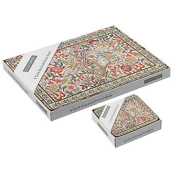 Stow Green Mary Isobel placemats e coasters