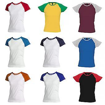 SOLS Womens/Ladies Milky Contrast Short/Sleeve T-Shirt