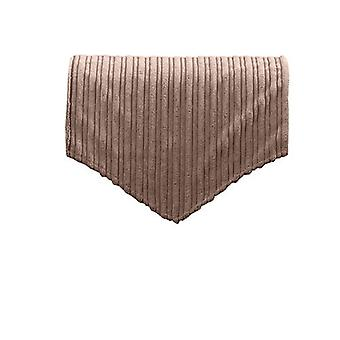 Changing Sofas Mocha Jumbo Cord Back Seat Cover for Chair, Sofa, or Armchair