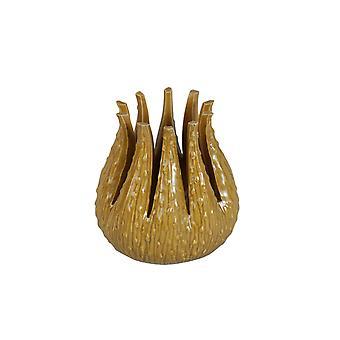 Vase Céramique Jaune 11 cm