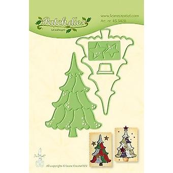 LeCrea - Lea'bilitie Patch die Christ. tree die 45.5428