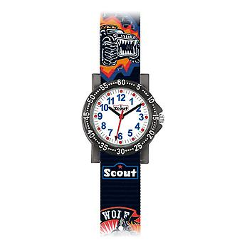 Scout Kinderuhr Wolf (375.015)