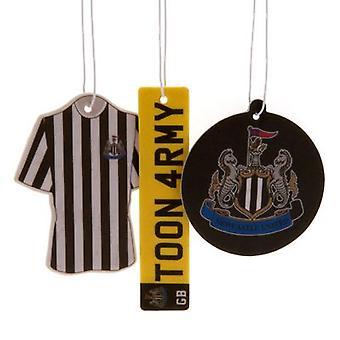 Newcastle United 3pk Air Freshener